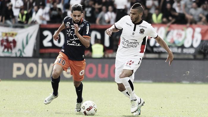 Sem Balotelli,Belhanda marca contra ex-clube e Nice arranca empate do Montpellier