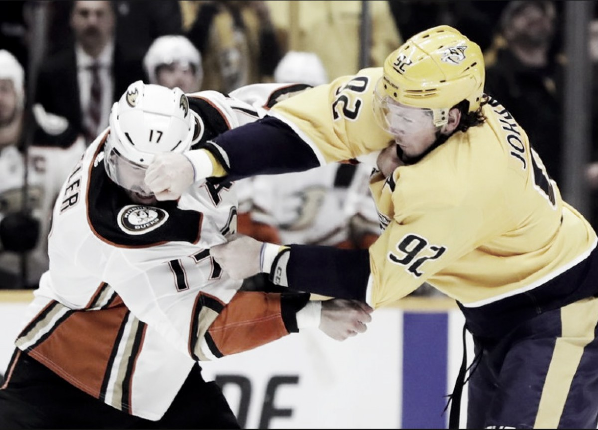Ryan Johansen, Ryan Kesler feud continues on social media