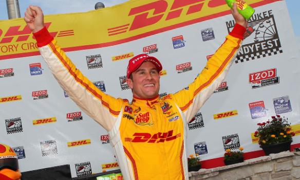 IndyCar - Milwaukee : La passe de deux pour Hunter-Reay