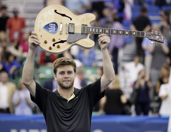 ATP Memphis: Ryan Harrison cruises past Nikoloz Basilashvili for first ATP title