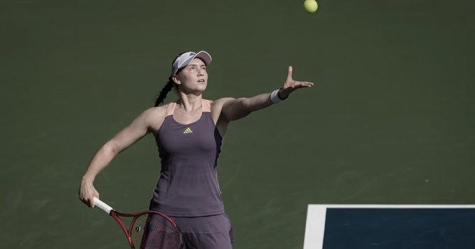 Rybakina mantém grande fase, bate Pliskova e chega às semifinais em Dubai