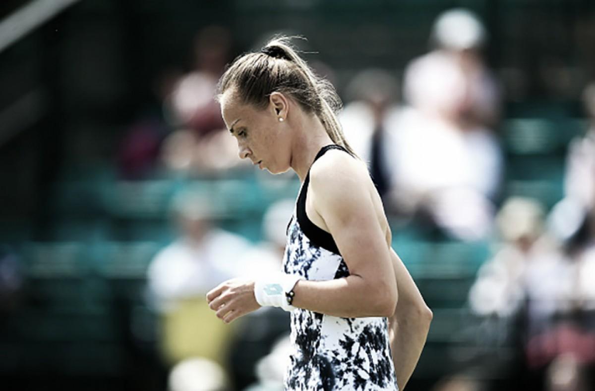 Cabeça de chave número dois, Rybarikova joga em baixo nível e cai para Barthel em Nottingham