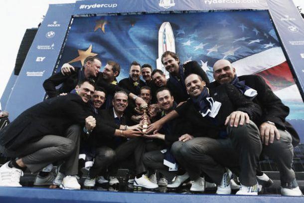Europa extiende su hegemonía en la Ryder Cup