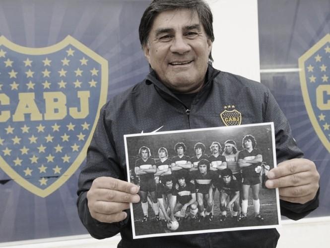 A 36 años del último partido de Hugo Perotti con la camiseta de Boca
