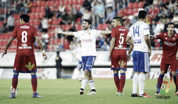 CD Numancia - Real Zaragoza: puntuaciones del Real Zaragoza, jornada 7