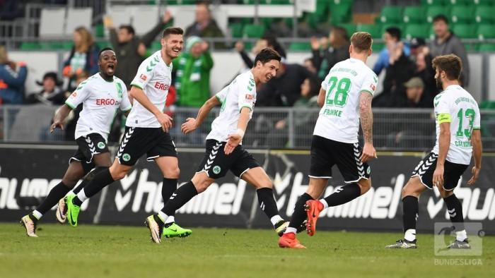 SpVgg Greuther Fürth 1-0 1. FC Nürnberg: Zulj strike seals Frankenderby day delight for Fürth