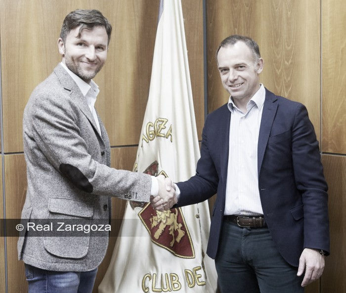 Gonzalo Arantegui se une al Real Zaragoza