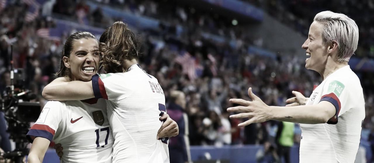 Ranking FIFA Femenino: Estados Unidos la mejor selección de 2020