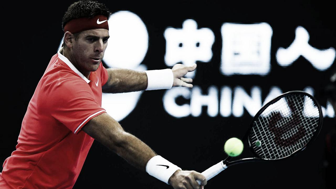 Del Potro a cuartos de final en China y participará del Torneo de Maestros