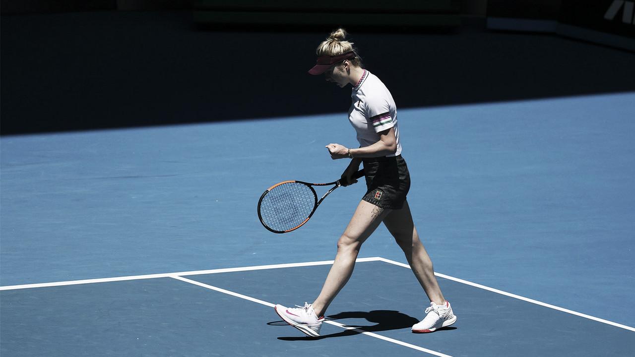 Svitolina reedita los cuartos de final en Australia
