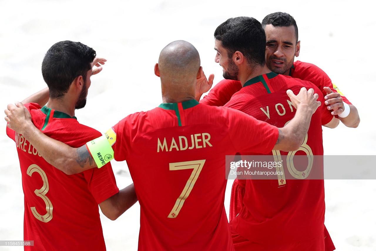 Portugal apurado para Mundial de futebol de praia