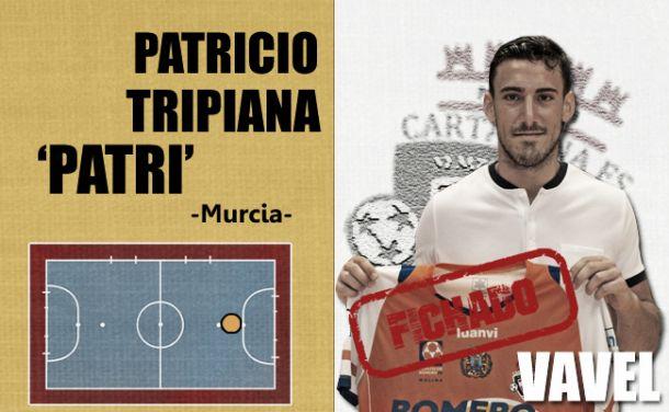 Patricio Tripiana, al 99%, último fichaje del Plásticos Romero Cartagena