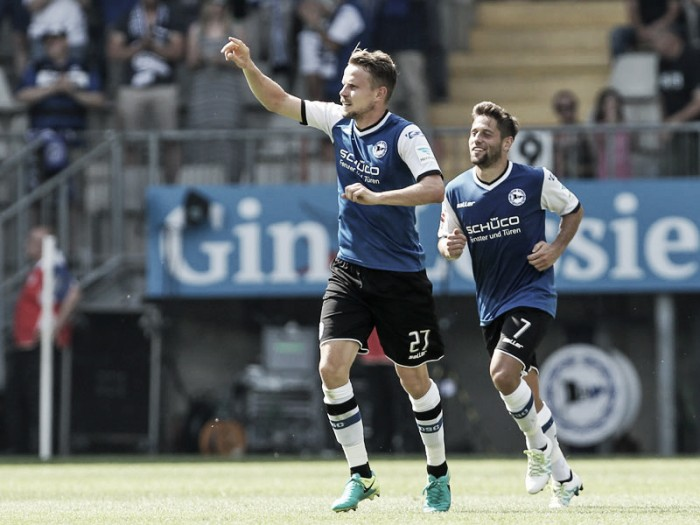 Arminia Bielefeld 4-4 1. FC Union Berlin: Eight-goal thriller at the SchücoArena