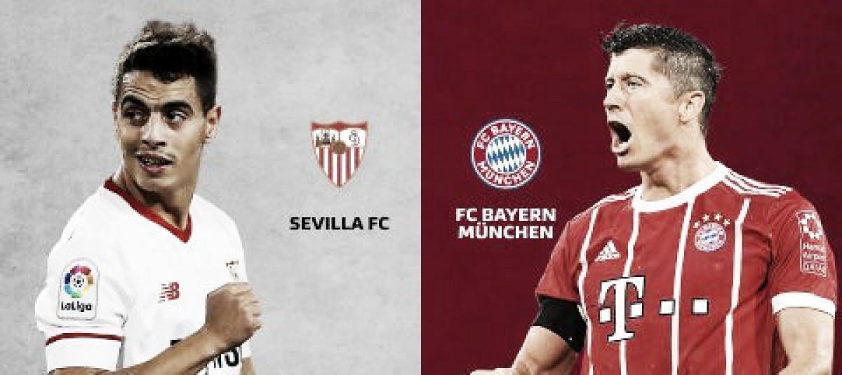Surpresa x um dos favoritos: Sevilla e Bayern duelam pela ida das quartas da UCL