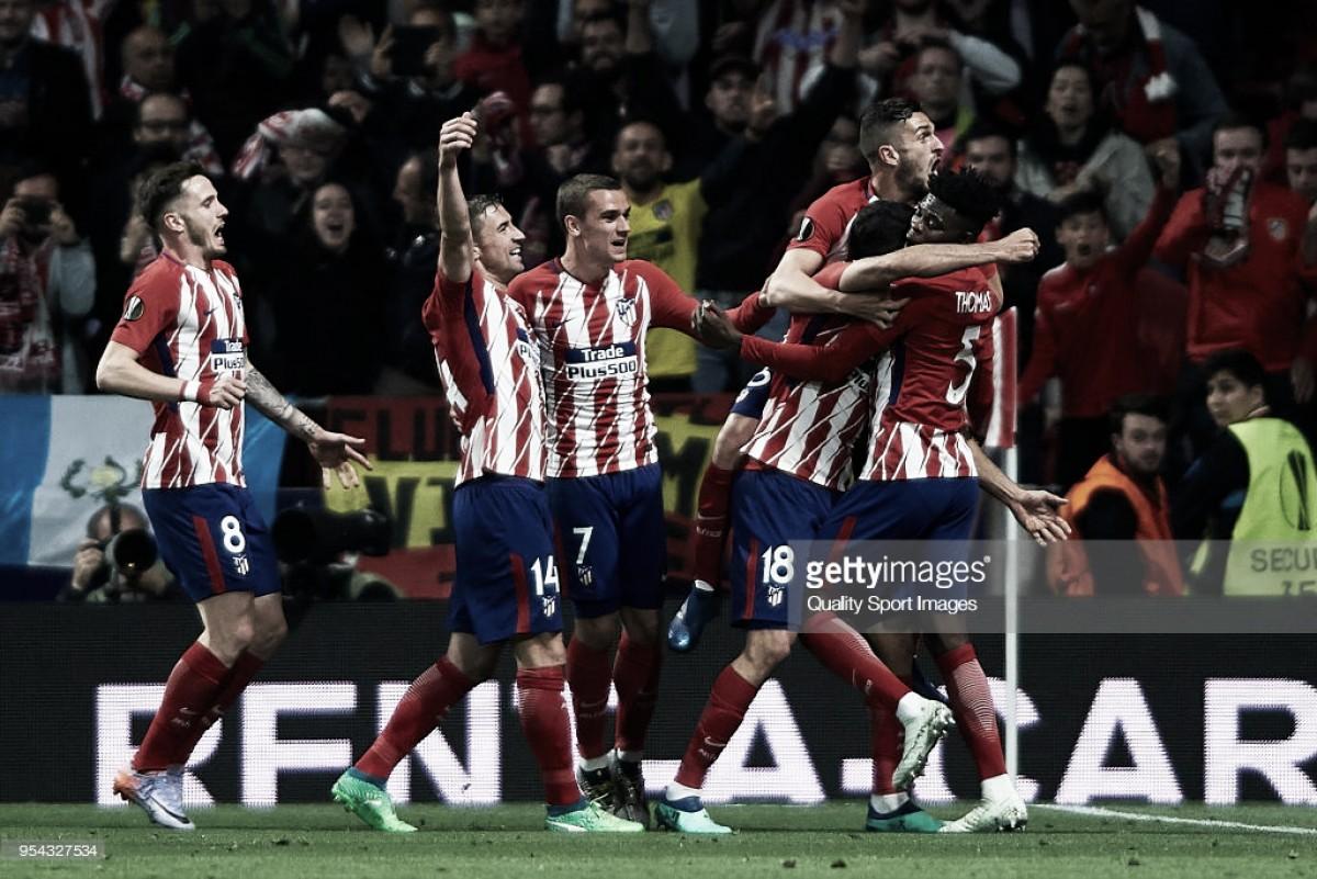 """Diego Costa coloca """"colchoneros"""" na final da Liga Europa"""