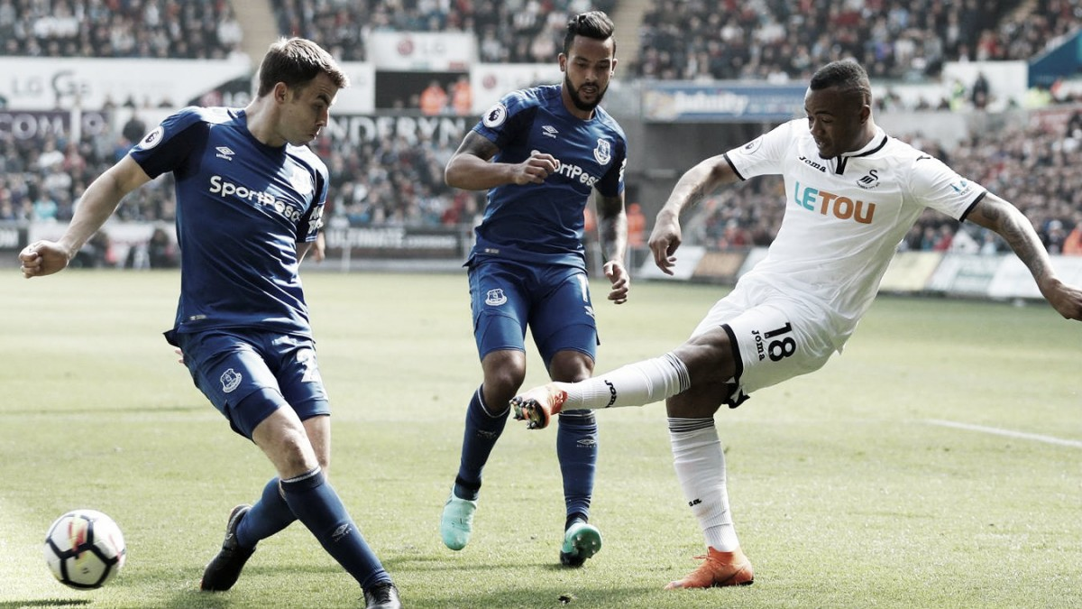 Swansea y Everton firman las tablas en un partido muy igualado