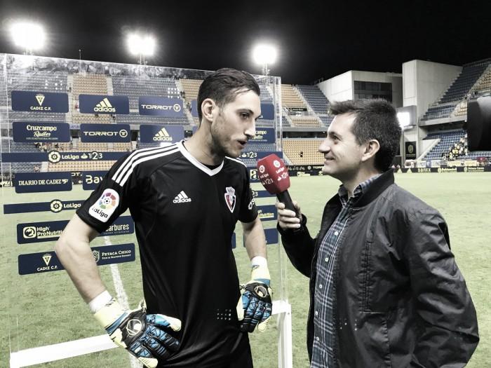 """Sergio Herrera: """"Estoy muy contento de haber aportado al equipo"""""""