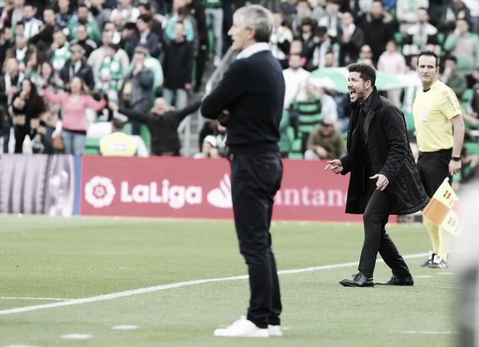 """Simeone: """"Tenemos una identidad muy clara: el partido a partido"""""""
