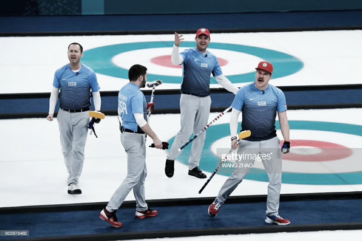 Pyeongchang 2018: USA defeats Canada 5-3 to advance to first-ever gold medal match in men's curling