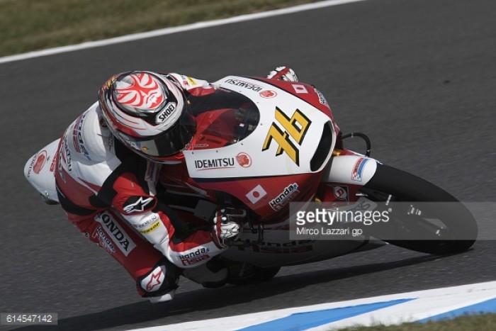 Ono claims Moto3 pole in Japan with record breaking pace but penalty means Migno  takes the prime spot