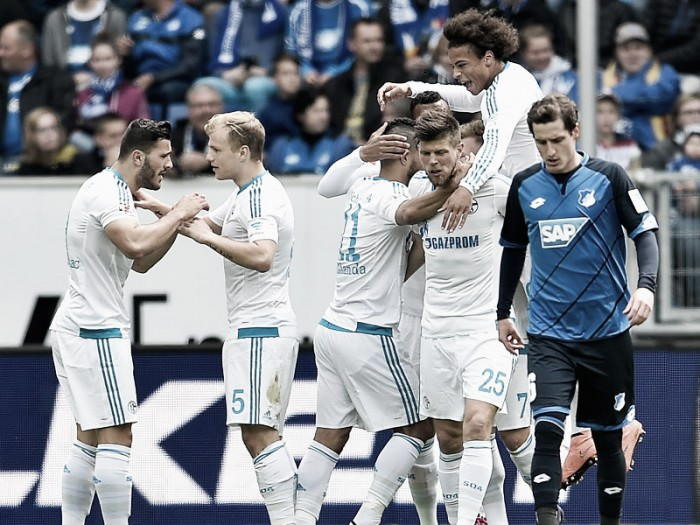 TSG 1899 Hoffenheim 1-4 Schalke 04: Royal Blues hammer Hoffenheim to finish fifth