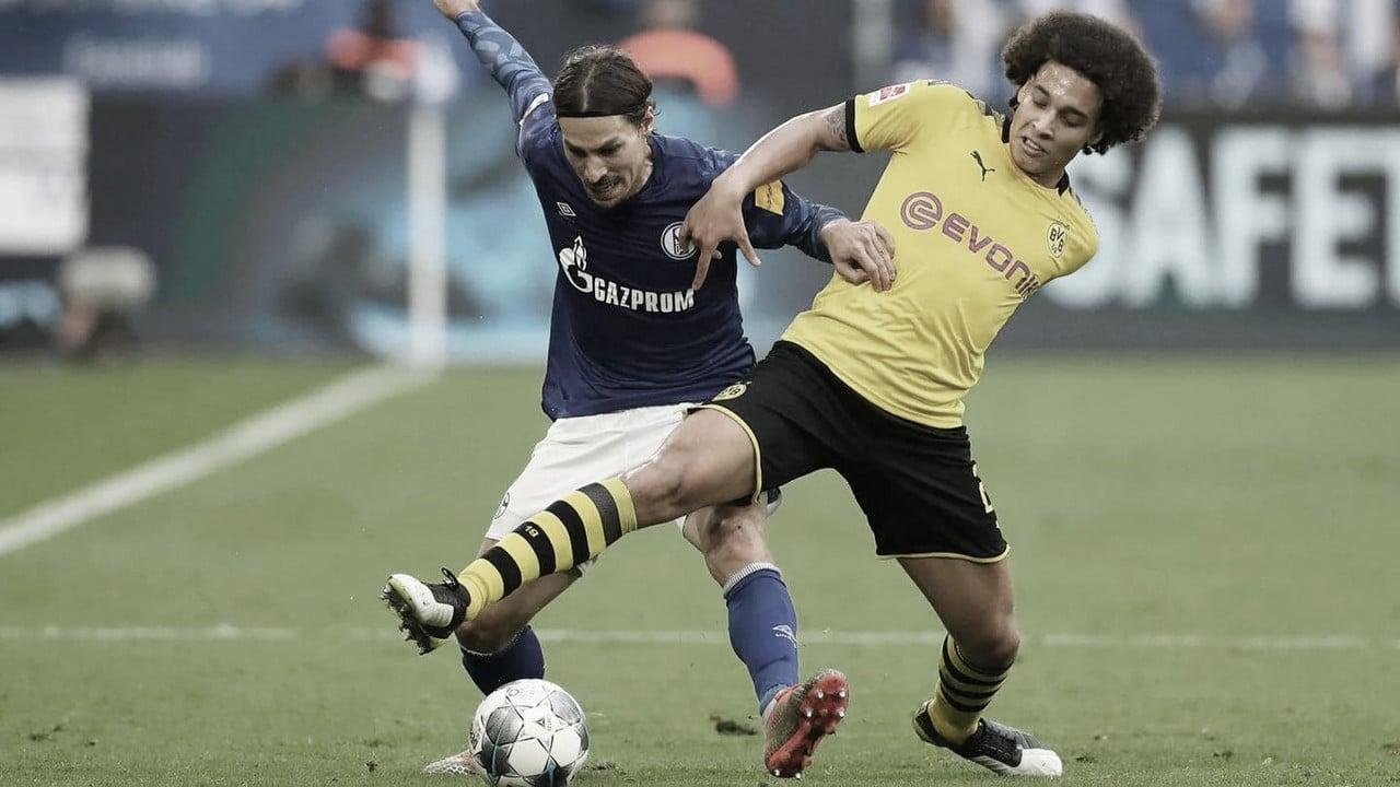 Clássico entre Schalke 04 e Borussia Dortmund termina no empate em Gelsenkirchen