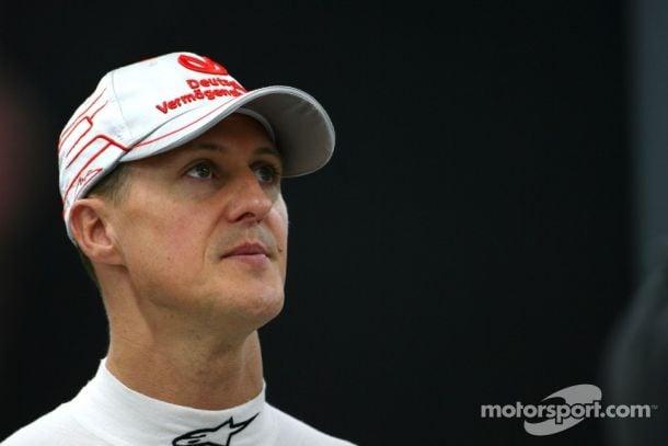 Assessoria divulga nota sobre estado de saúde de Michael Schumacher