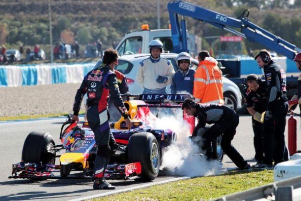 Com pouco mais de 20 voltas completadas, Red Bull deixa testes coletivos em Jerez, e aposta suas fichas no Bahrein