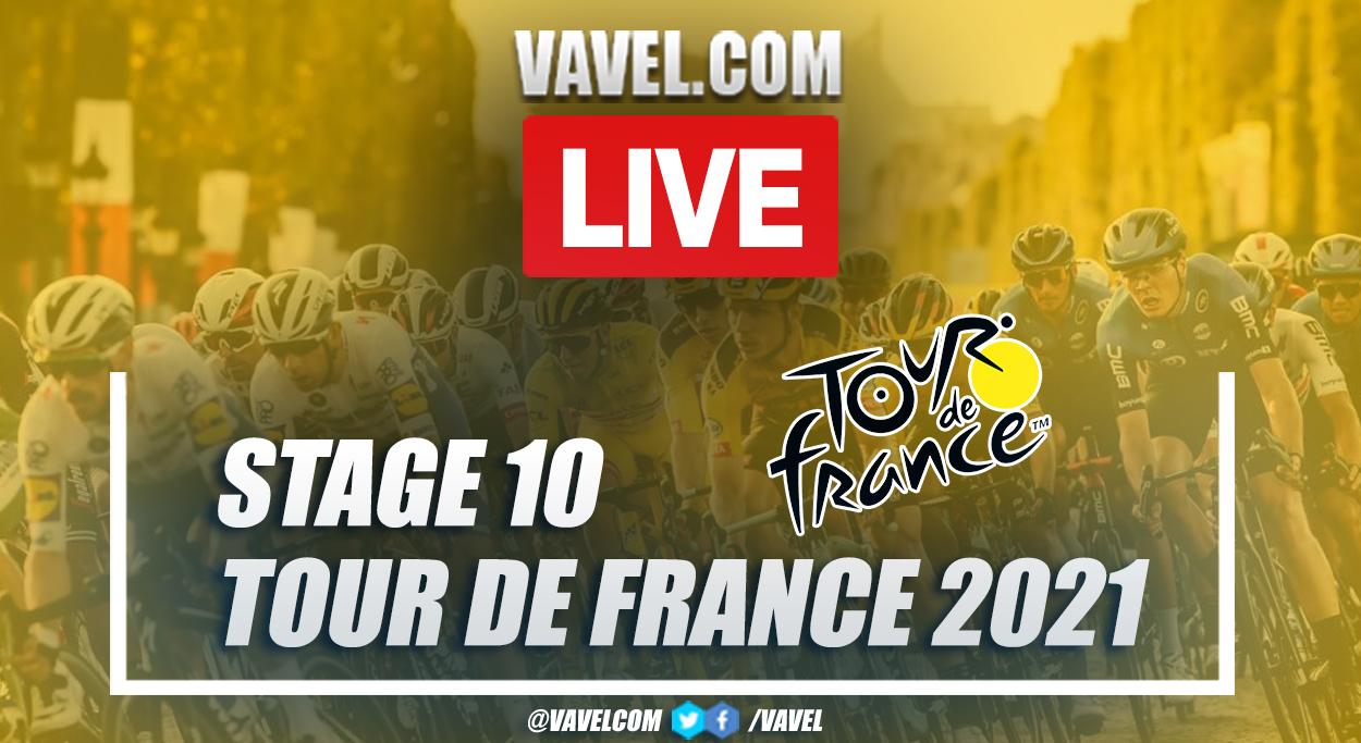 Highlights Stage 10 of 2021 Tour de France: Albertville - Valence