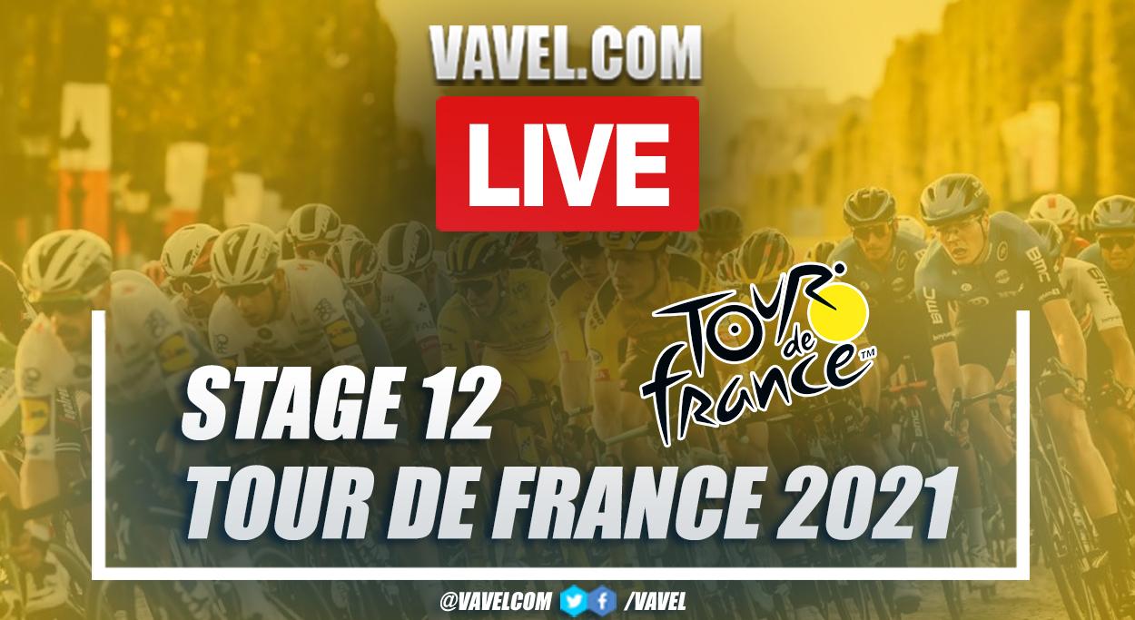 Highlights Stage 12 of 2021 Tour de France:Saint Paul Trois Châteaux - Nîmes