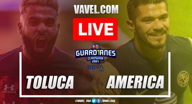 Goals and highlights: Toluca 3-1 America in 2021 Liga MX