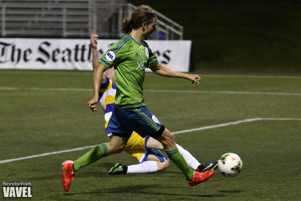 Seattle Sounders 2 vs Portland Timbers 2 Live Score and Result of 2015 Lamar Hunt US Open Cup Third Round (2-1)
