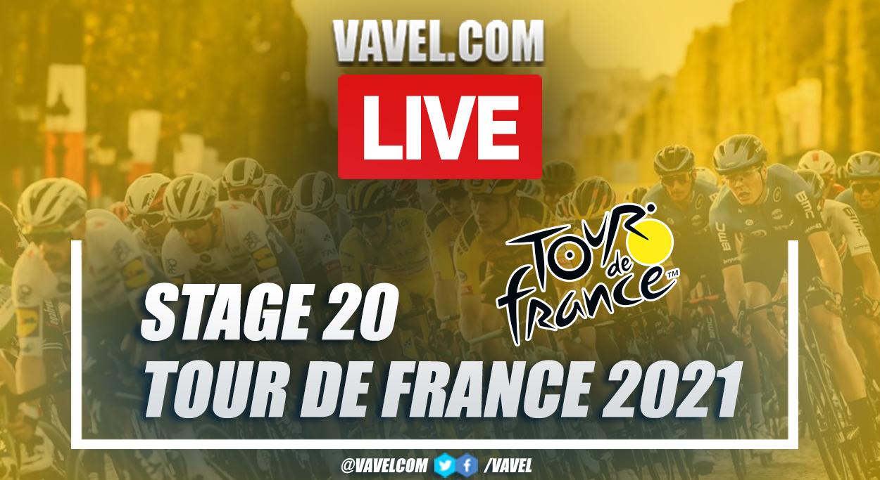 Highlights stage 20 of 2021 Tour de France: Libourne - Saint-Émilion (CRI)