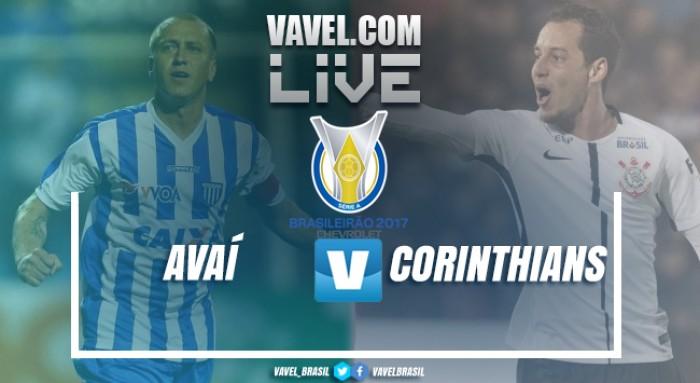 Resultado Avaí x Corinthians no Campeonato Brasileiro 2017 (0-0)