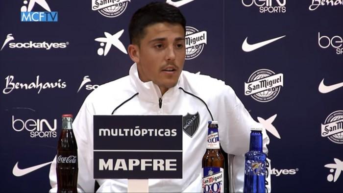 """Pablo Fornals: """"Queremos dejar al Málaga CF lo más arriba posible"""""""