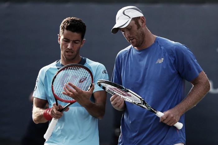André Sá e Guccione vencem americanos; Bellucci e Demoliner fazem história contra dupla francesa no US Open