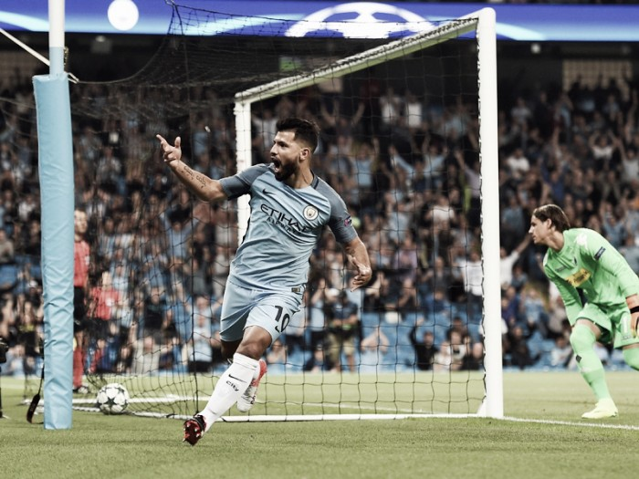 Manchester City 4-0 Borussia Mönchengladbach: City storm to win over Foals