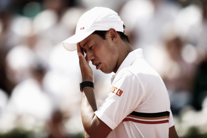 "Kei Nishikori aiming to ""enjoy"" battle with Andy Murray in the French Open quarterfinals"