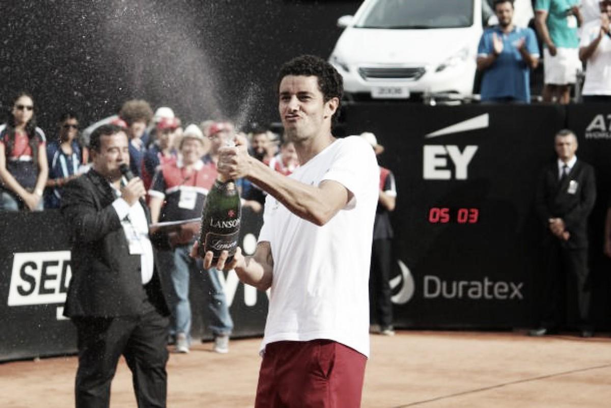 """André Sá, """"a lenda do tênis brasileiro"""" pendura as raquetes"""