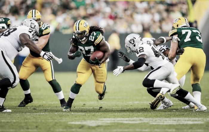 Ataque terrestre funciona, Packers derrota Raiders e conquista segunda vitória na pré-temporada