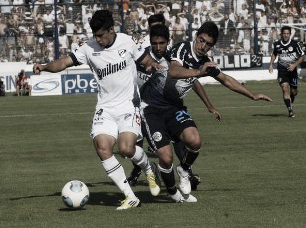 Resultado Quilmes - Gimnasia (2-0)