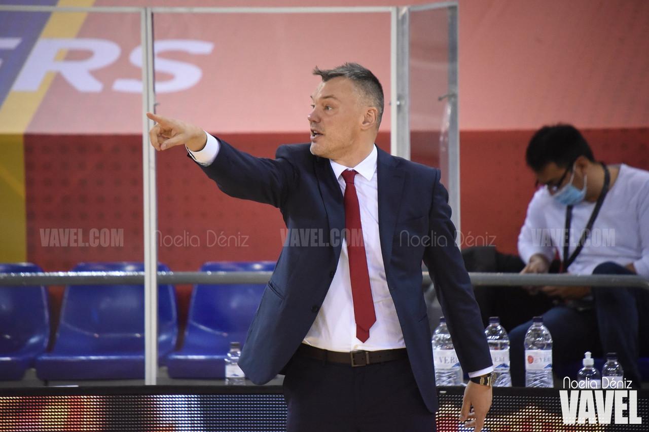 "Saras Jasikevicius: ""Sergi Martínez está jugando muy bien"""