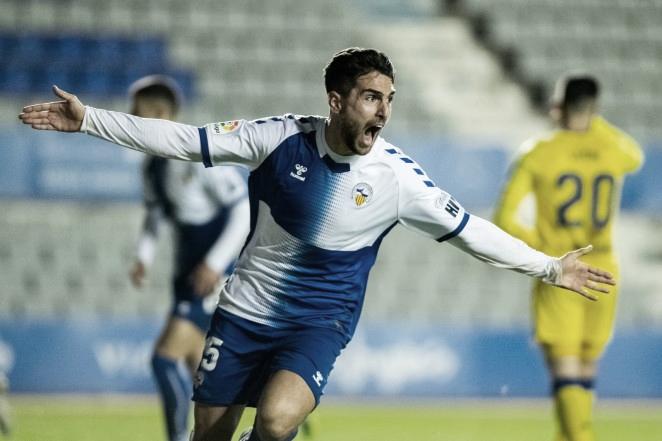 Un gol de Juan Ibiza en el descuento dio un punto vital al CE Sabadell ante el Alcorcón | Foto: CE Sabadell FC