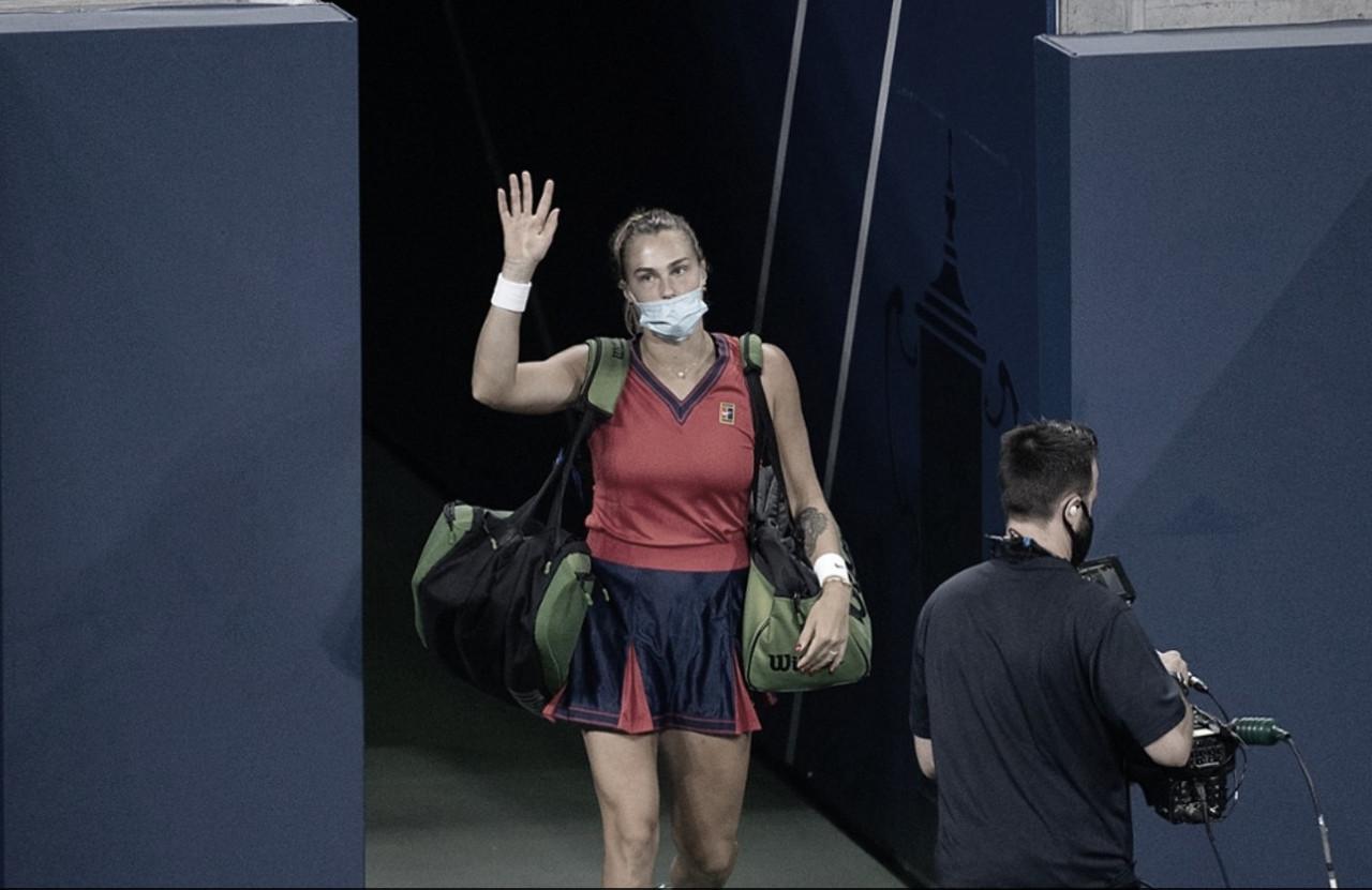 Sabalenka leva susto, mas bate Stojanovic no US Open; Azarenka vence bem