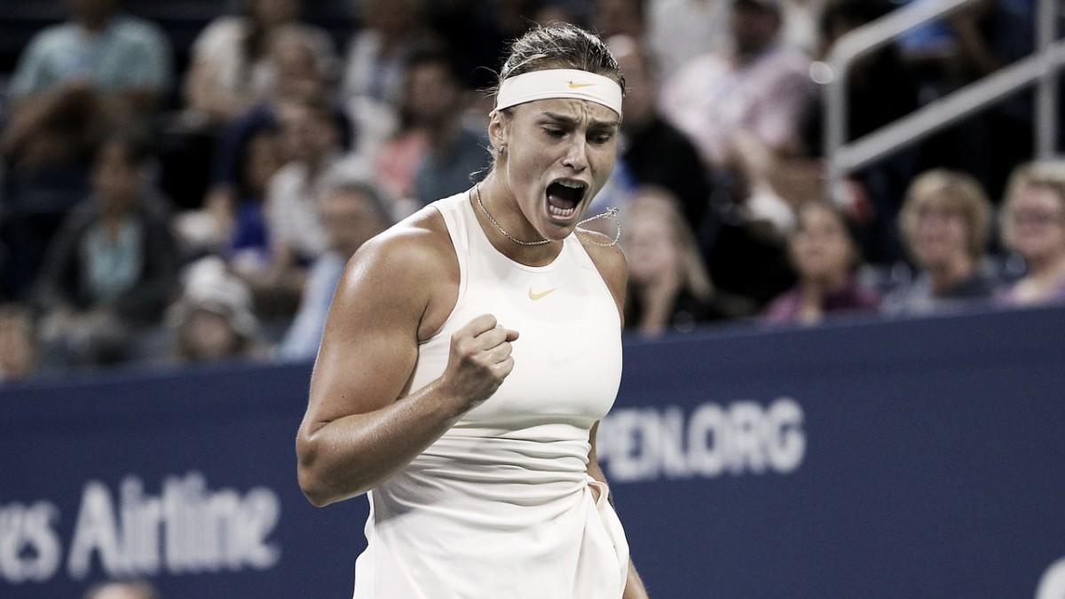 Sabalenka faz mais uma vítima e derruba Kvitova no US Open