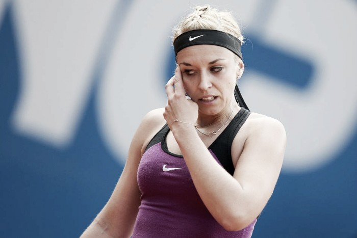 French Open 2016: Sabine Lisicki's poor form continues as she crashes out in the first round