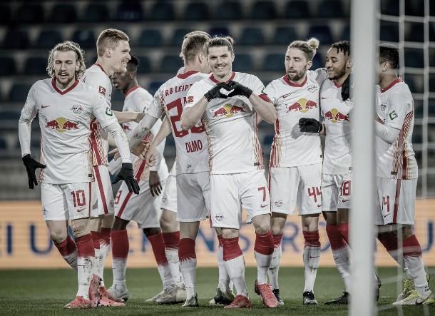Sufrido triunfo del Leipzig ante el Bielefeld