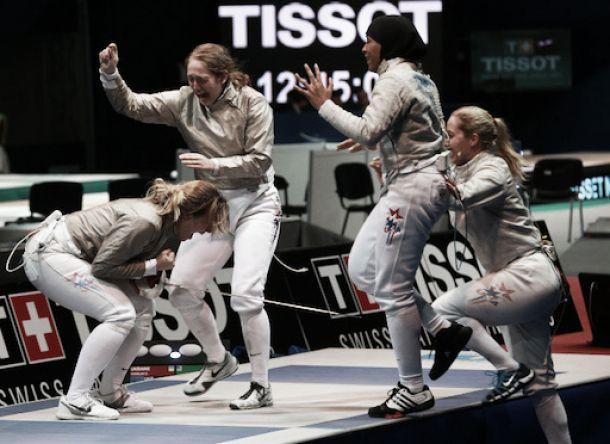 Championnat du Monde d'Escrime: Au bonheur des dames