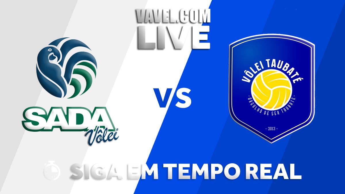 Resultado Sada Cruzeiro x Taubaté pelas semifinais da Superliga Masculina (3-0)