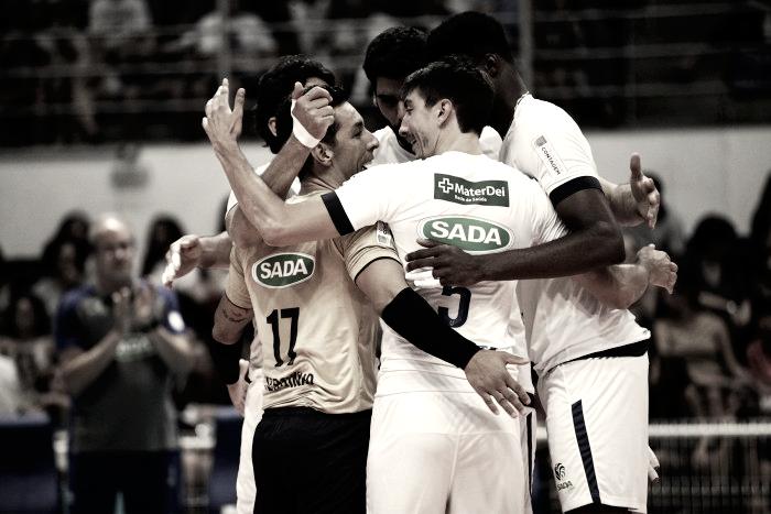 Sada Cruzeiro vence clássico contra Minas e permanece na liderança da Superliga Masculina